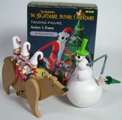 Nightmare Before Christmas Trading figure Snowman Jack Series 1 Jun Planning