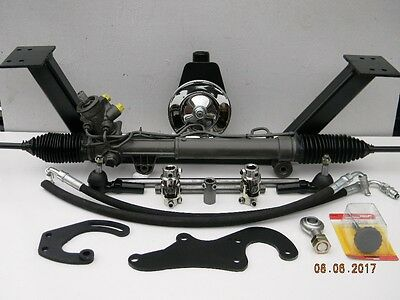 49 50 51 52 53 54 Chevy Rack and Pinion Power Steering
