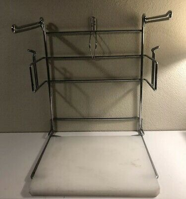Commercial Use Grocery Store Bag Holder Metal Heavy Duty, See Photos