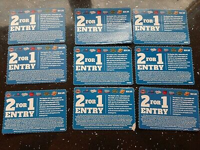 2 for 1 Entry. Alton Towers, Legoland, Thorpe Park, Madame Tussauds, SeaLife +