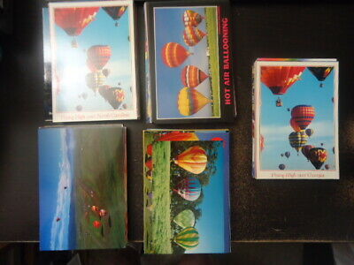 Lot of Approx. 50 Hot Air Ballooning Unused PostCards