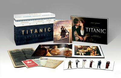 Titanic Ultimate Edition Blu Ray 3D + 2D