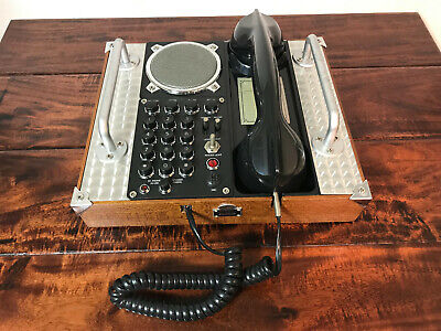 VTG Spirit of St. Louis CLASSIC FIELD PHONE S.O.S.L. Collection Telephone Home