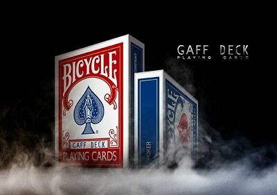Gaff Deck (Rider Back) (Red) [Bicycle] Playing Cards - USPCC