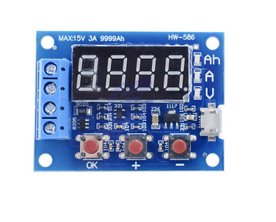 Lithium Ion 18650 Battery Capacity Tester