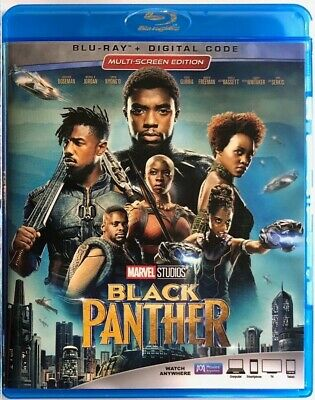 Marvel Black Panther Blu Ray Free World Wide Shipping Multi-Screen Edition Buy