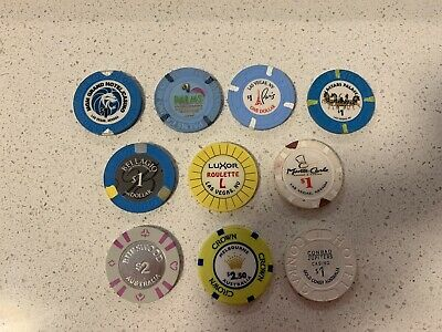 10x Casino Chips From USA / AUS