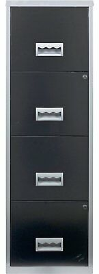 Argos Home 4 Drawer A4 Metal Filing Cabinet