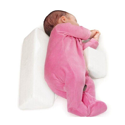 Baby Sleep Pillow Wedge Infant Sleeping Head Support Pillow Cushion Head Rest UK