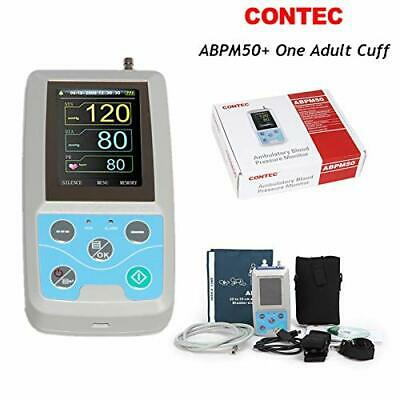 CONTEC FDA Ambulatory Blood Pressure Patient Monitor 24h NIBP Holter ABPM50, USA