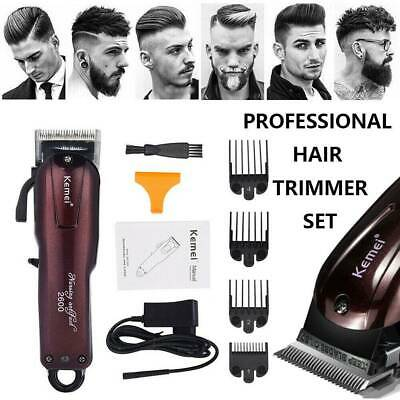 Brand New Professional Electric Cordless Hair Clipper Trimmer Shaver LCD Display