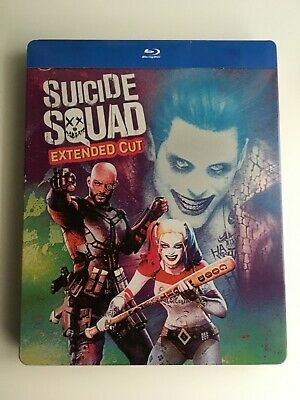 Suicide Squad blu-ray steelbook (Illustrated artwork)