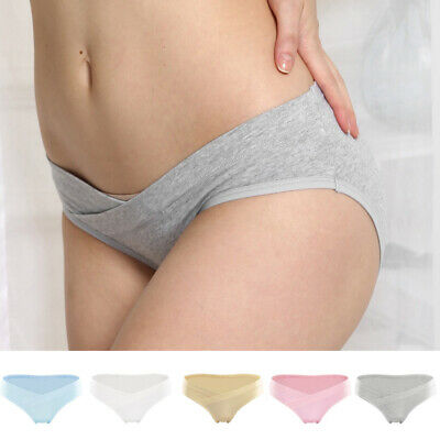 Womens Maternity Pregnancy Cotton Underwear Panties 3pcs/5pcs Pack Underpants