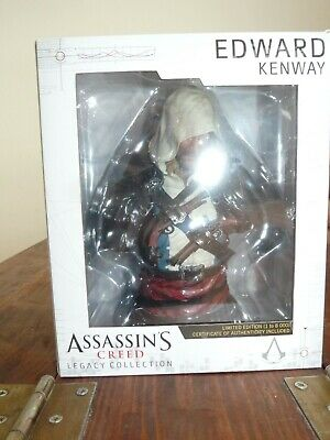 Black Flag Buste Edward Kenway Legacy Collection Assassin/'s Creed IV Neuf
