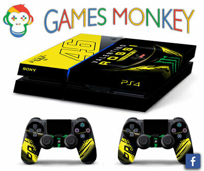 Skin PS4 Old - VALENTINO ROSSI GAME - limited edition COVER Playstation 4 DECAL
