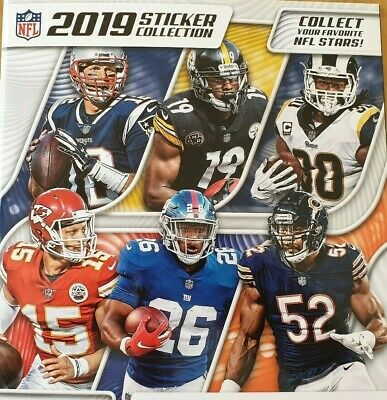Panini Nfl 2019 Stickers Numbers 191- 382 Buy 4 Get 10 For Free