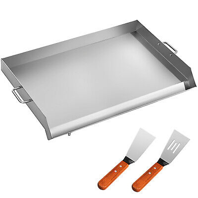 """32"""" x 17"""" Stainless Steel Comal Griddle Flat Top Grill for Triple Burner Stove"""