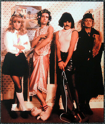 Queen Poster Page 1984 I Want To Break Free Video Promo Shoot Freddie Mercury F8