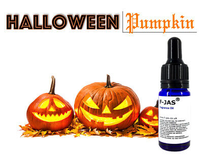 Halloween PUMPKIN Fragrance Oil for Wax Melts, Bath Bombs, Candles & More IFRA
