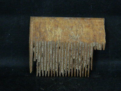 Ancient Shell/Bone Comb Islamic 1200 AD #STN751