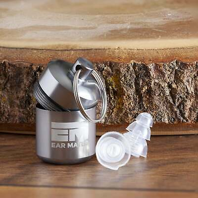 Soft In Ear Reusable Silicone Earplugs Noise Cancelling Concert Work Travel