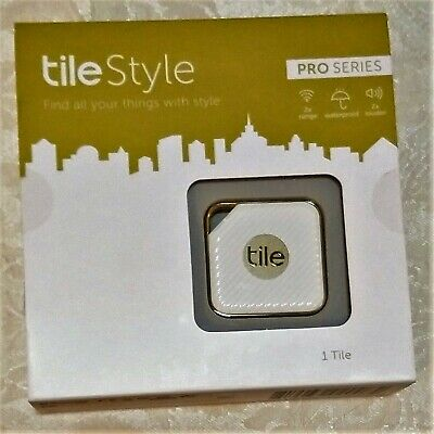 Tile Style Pro Series- Gold/White - Anything Finder 1-pk Brand New Sealed in Box