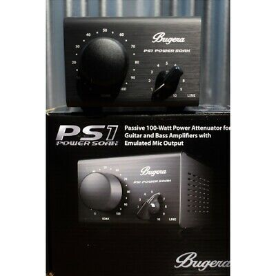 Bugera PS-1 Passive 100 Watt Guitar Amplifier Power Attenuator