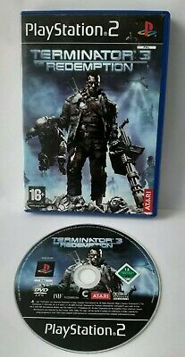 Terminator 3 The Redemption Sony PlayStation 2 Adventure PS2 Game FREE DELIVERY