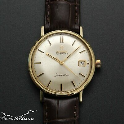 1962 Omega Seamaster Gold Capped Cal 565 Ref 14770