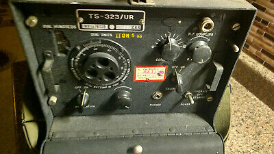 WW2 WWII US Military Radio Signal Corps Frequency Meter TS-323/UR Vintage