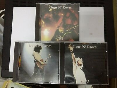 Guns N'Roses - Thompson 1880 - 3 CD Tamtam Studio Lenny Kravitz Steven Tyler
