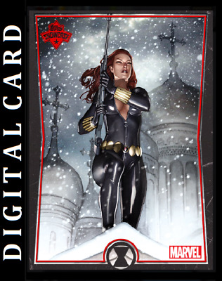 Topps Marvel Collect Card Trader Showcase Black Widow #4 [Digital]