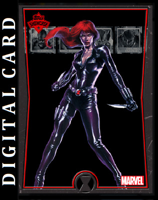 Topps Marvel Collect Card Trader Showcase Black Widow #10 [Digital]