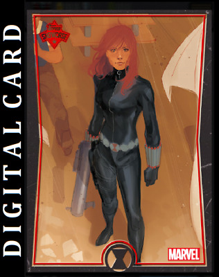 Topps Marvel Collect Card Trader Showcase Black Widow #7 [Digital]