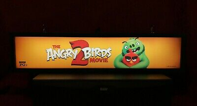 "The Angry Birds Movie 2 (2019) Large Movie Theater Mylar 5"" X 25"""