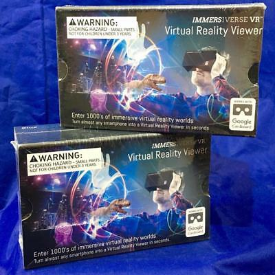 lot of (2) VR Virtual Reality Viewer by Immersiverse BlueSky IM-1001