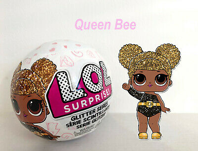 Lol Surprise Glitter Series 🌟Queen Bee🌟 Pearl Ultra Rare Ball Doll Resealed