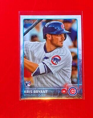 Kris Bryant Card  - Chicago Cubs - 2015 Topps RC #616  FS Qty