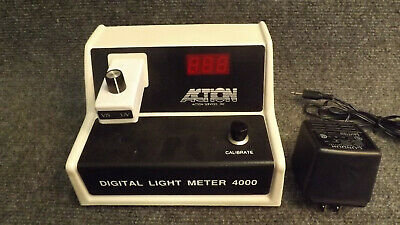 Action Services VIS/UV Digital Light Meter 4000