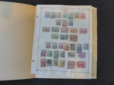 Hungary 1922-1937  Mint/Used Stamp Collection on Scott Intl Album Pgs