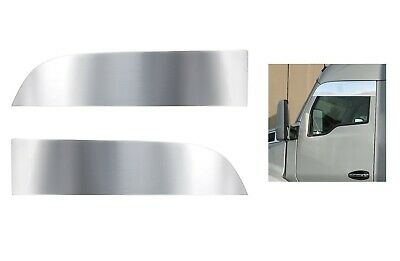 """Stainless 8"""" Chopped Window Trim for 2013+ Kenworth T680/T880"""