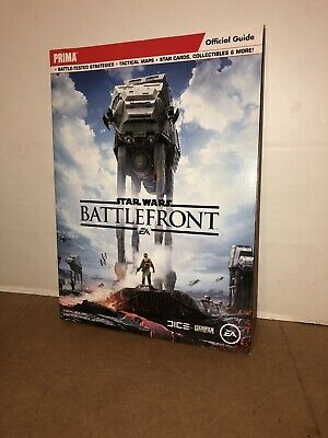 STAR WARS BATTLEFRONT Official EA Strategy Guide PS4 Xbox One PC Games Prima
