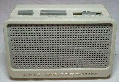Duofone Telephone Amplifier System Model No. 43-200 Vintage Open Box