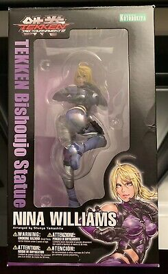 Kotobukiya Bishoujo 1/7 Statue Tekken Tag Tournament 2 Nina Williams Open Box