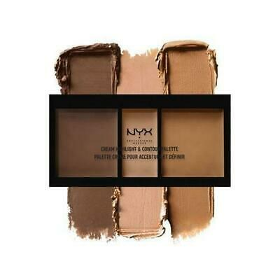 NYX Cream Highlight & Contour Palette CHCP03 Deep