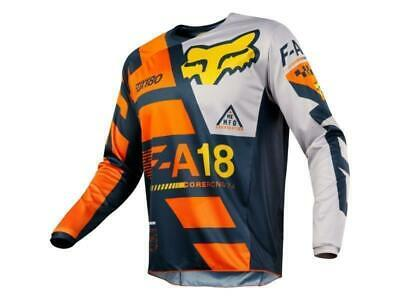 Fox Maglia moto cross 180 Jersey 2018 Sayak-Orange tg. M