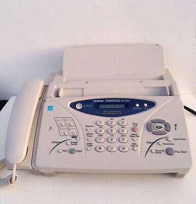 Brother IntelliFax 885MC Plain-Paper Fax machine with Message Center & Copier