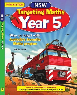 NSW Targeting Maths Student Book : Year 5 By Katy Pike Paperback Brand New