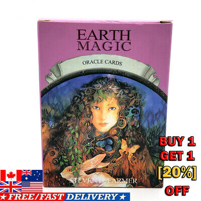 Earth Magic Oracle Set Deck Cards Wiccan Pagan Metaphysical US