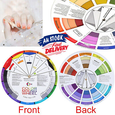Artists Mixing Artist Colour Wheel AZ Guide Pocket